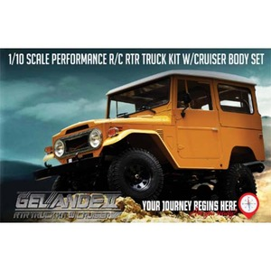 하비몬RC4WD Gelande II ARTR Truck Kit w/Cruiser Body Set - 송수신기 미포함[상품코드]RC4WD