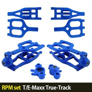 하비몬[RPM set] T/E-Maxx True-Track A-arms (Blue)[상품코드]자체브랜드