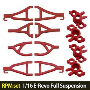 하비몬[RPM set] 1/16 E-Revo Full Suspension A-arms (Red)[상품코드]자체브랜드